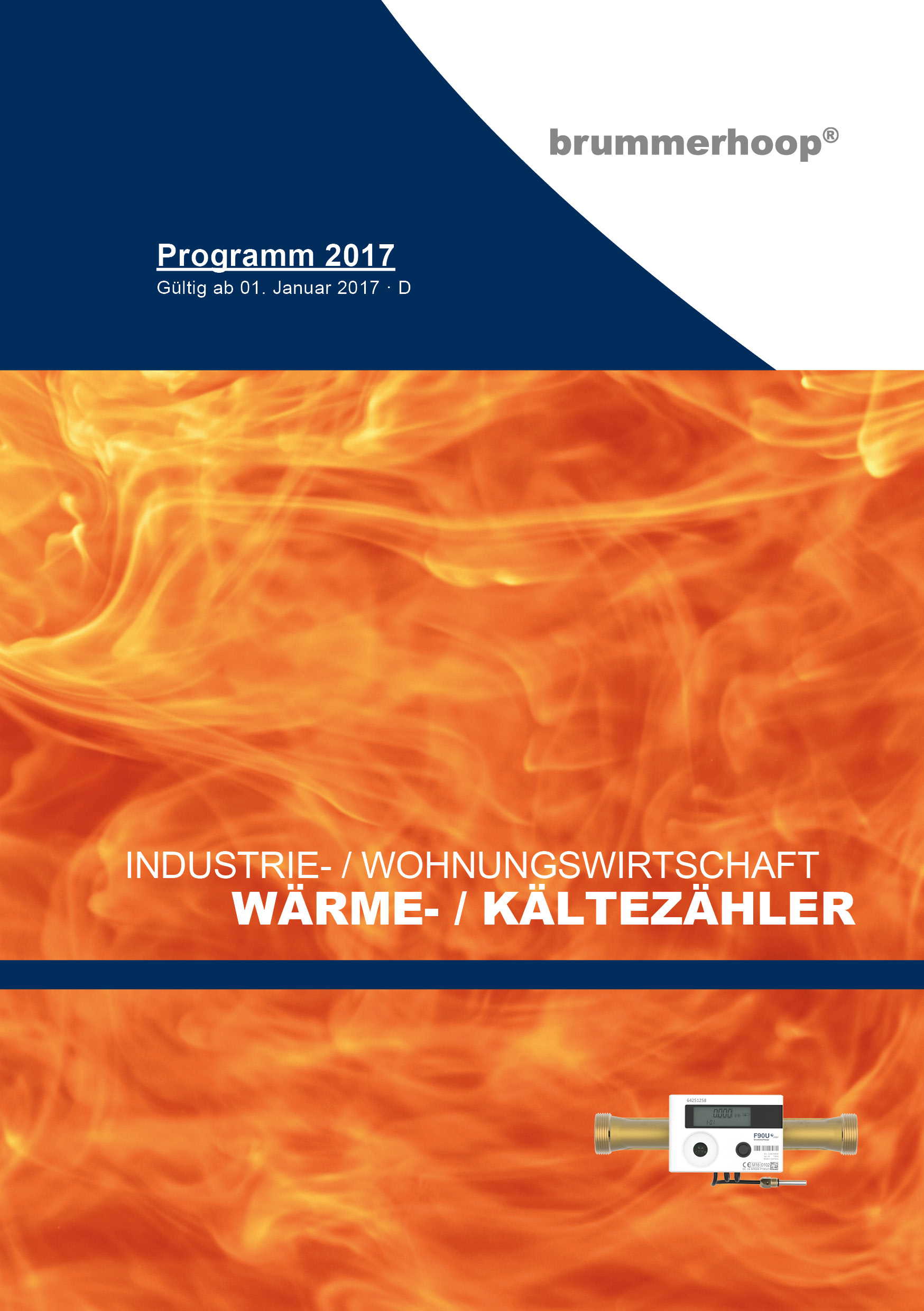 Cover Messtechnik-Katalog 2017